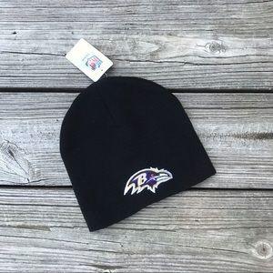 Baltimore Ravens Black Beanie